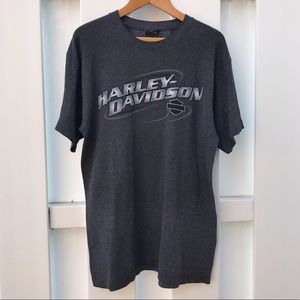 Harley Davidson Spell Out T-shirt ✨